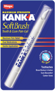 Kank-a Softbrush Tooth & Gum Pain Gel